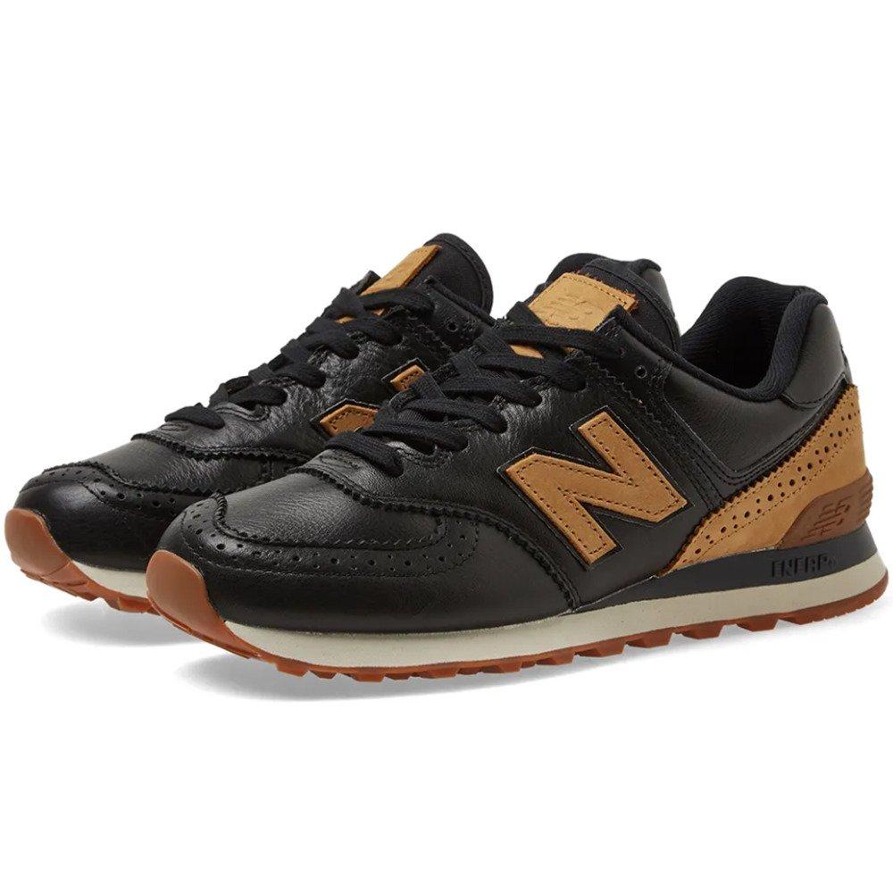 New Balance buty męskie ML574LEE czarnybrązowy | e