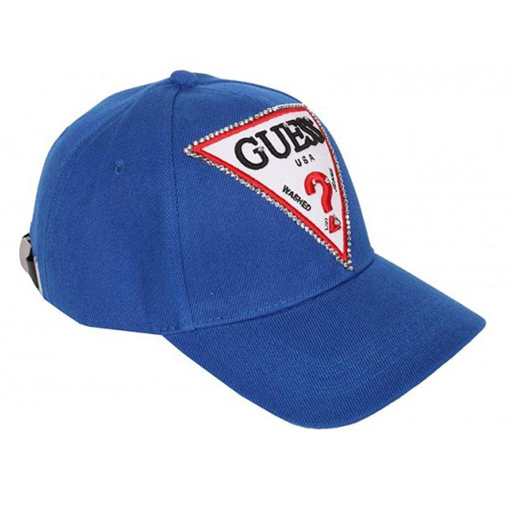 322560fc981154 CZAPKA GUESS LOGO BASEBALL CAP BLUE W92Z60WA280 | Ona \ Akcesoria \ Czapki,  Szale, Rękawiczki Ona \ Marki Kobiece \ Guess Marki_Banery \ GUESS Marki \  GUESS ...