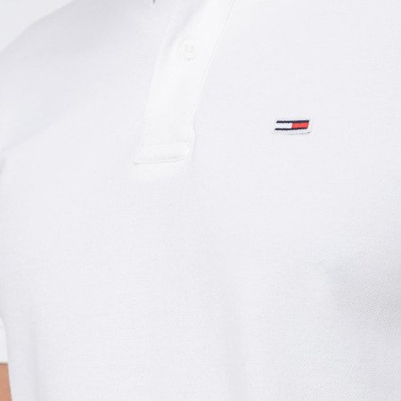 Polo TOMMY JEANS CLASSIC SOLID DM0DM06112 White